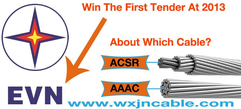 ACSR AAAC Overhead Line Win The EVN Vietnam Tender