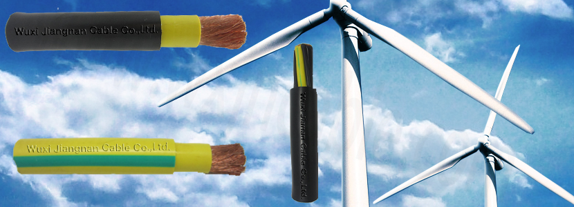 wind energy cable description for the moveable or fixed place of wind power plant