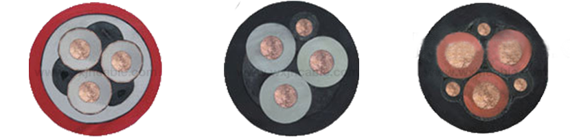 High Voltage Rubber Screened Flexible Cable For Railway Shield0