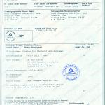 TUV Certificate 01