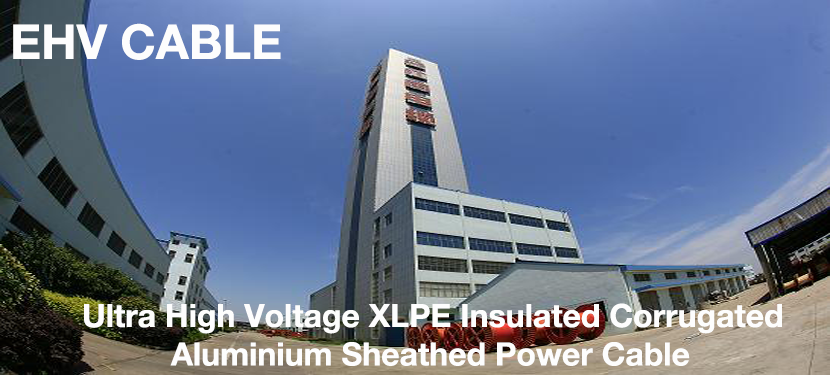 Ultra High Voltage XLPE Corrugated Aluminium Sheathed Power Cable